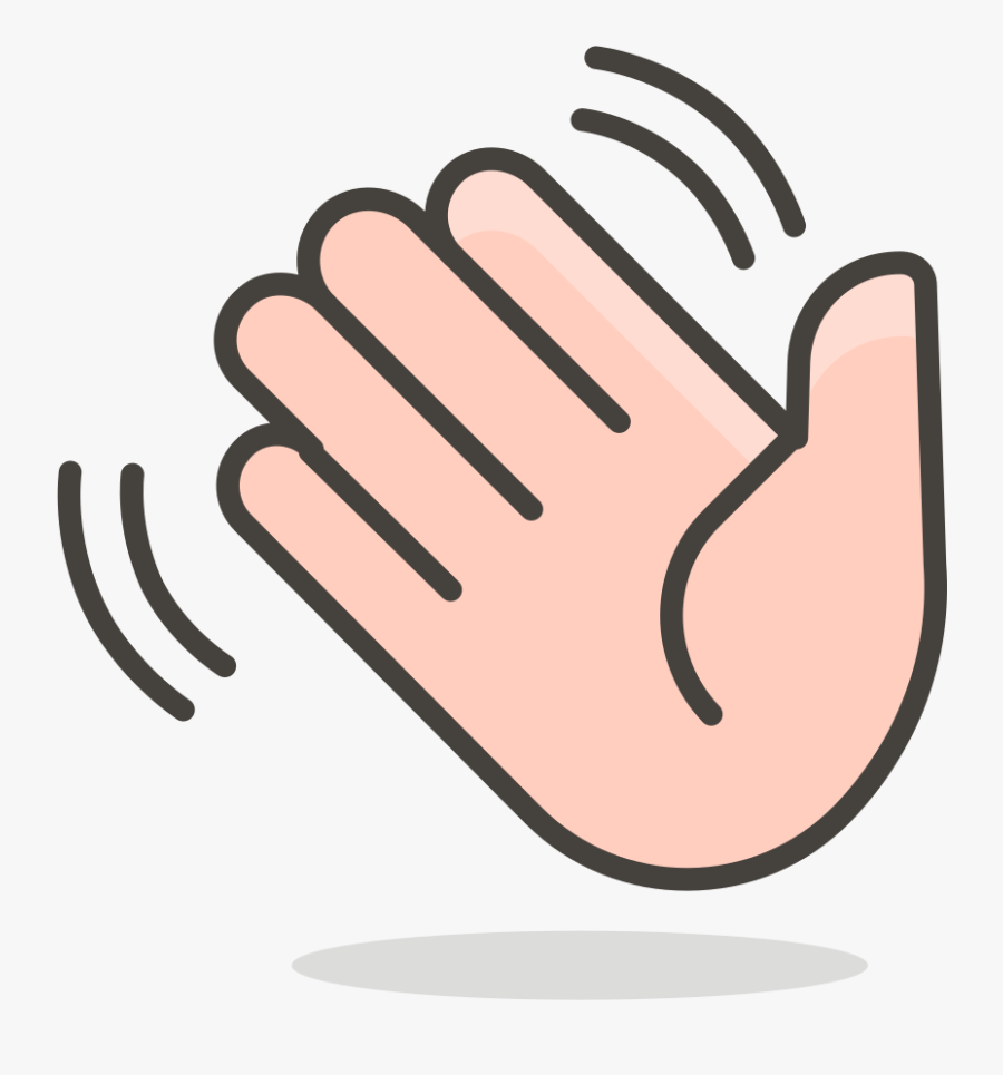 384 Waving Hand - Waving Hand Icon Png , Free Transparent ...