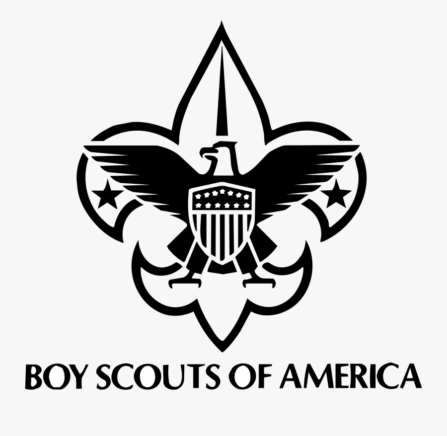 Boy Scouts Of America Logo Black And White - Transparent Boy Scouts Of America Logo, Transparent Clipart