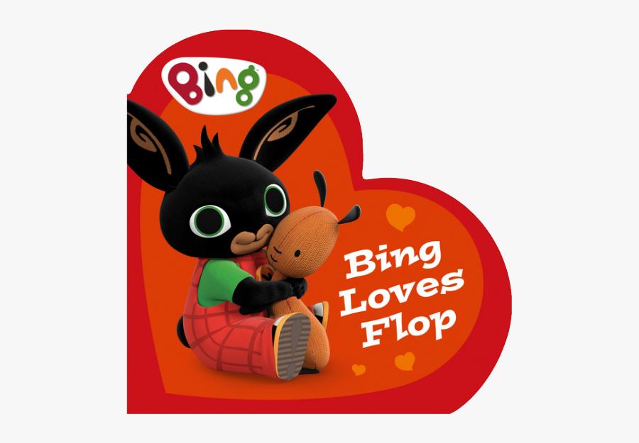 Bing Loves Flop - Cartoon, Transparent Clipart