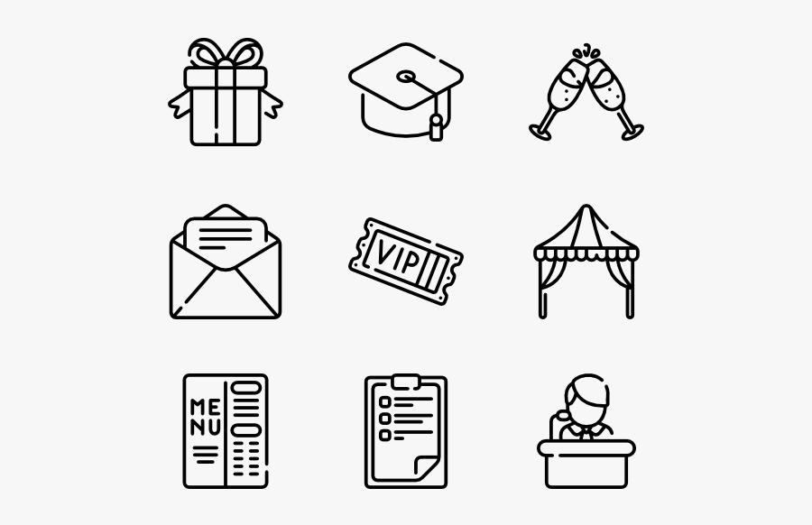 Clip Art Icon Packs Vector - Graphic Design Icon Vector, Transparent Clipart