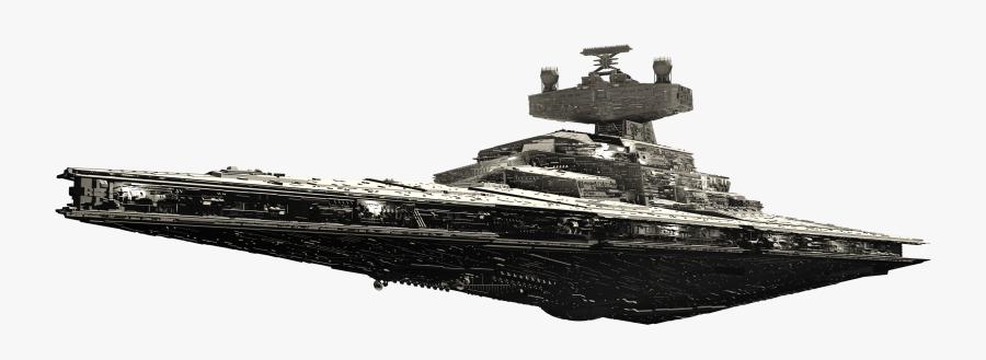 Star Destroyer Png Clip Art Freeuse - Star Destroyer Transparent Background, Transparent Clipart
