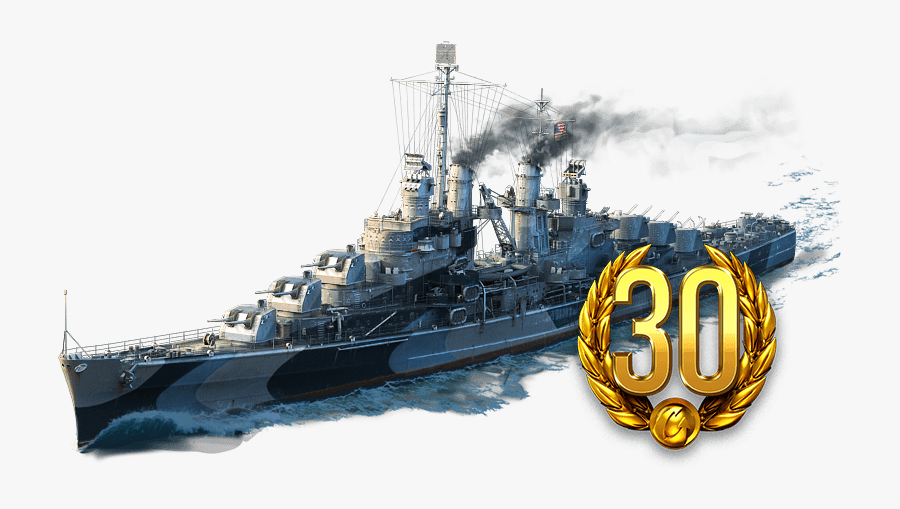 Heavy Cruiser World Of Warships Armored Cruiser Dreadnought - World Of Warship Png, Transparent Clipart