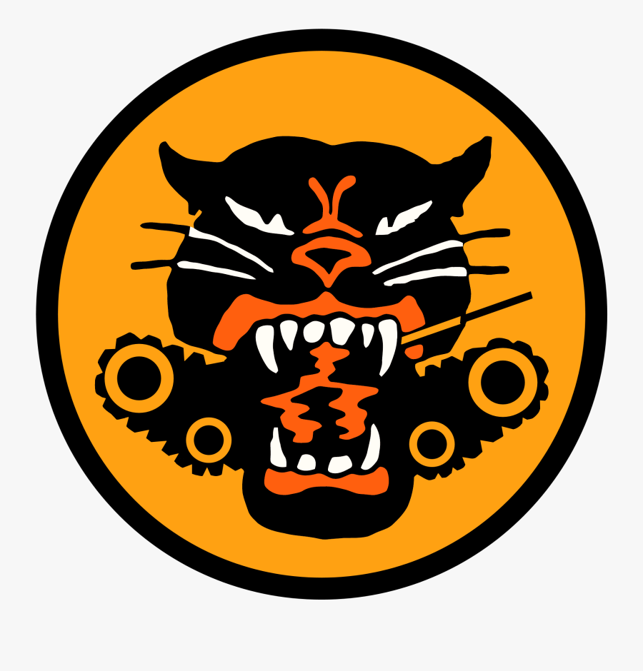 Wwii Drawing Logo - Tank Destroyer Battalion Patch, Transparent Clipart