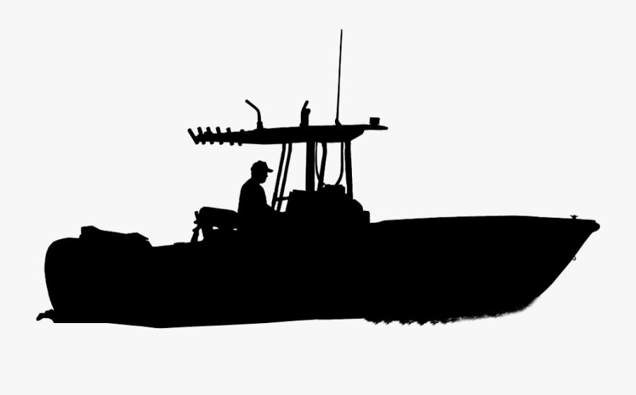 Torpedo Boat Destroyer Submarine Chaser Battleship - Lancha Silueta Png, Transparent Clipart