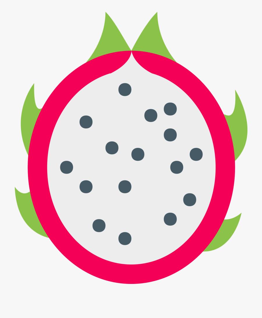 Dragon Fruit Icon - Dragon Fruit Vector Png, Transparent Clipart