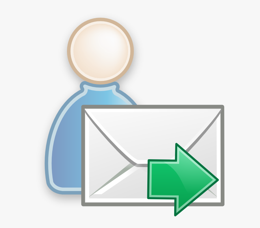 Email Clipart Message - User Send Email Icon, Transparent Clipart