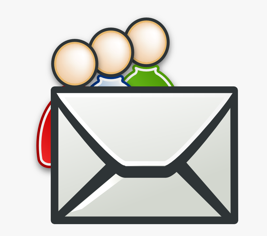 Mail Icon For Resume, Transparent Clipart