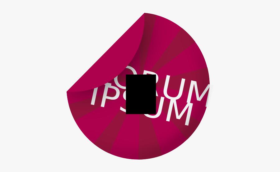 Sticker Svg - Lorem Ipsum, Transparent Clipart
