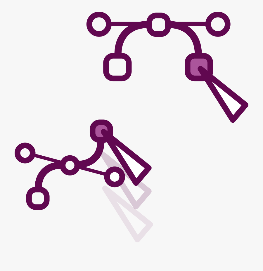 Dbb // Inkscape Node Move Clip Arts, Transparent Clipart
