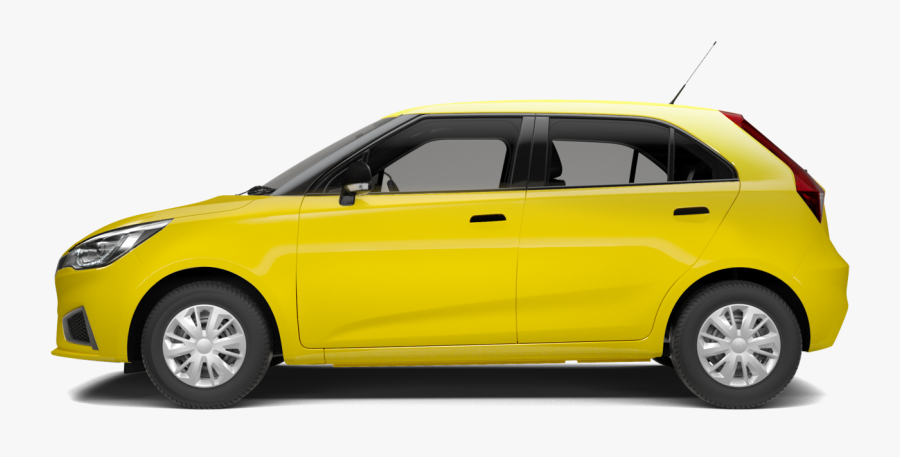 Car Png Yellow Side, Transparent Clipart
