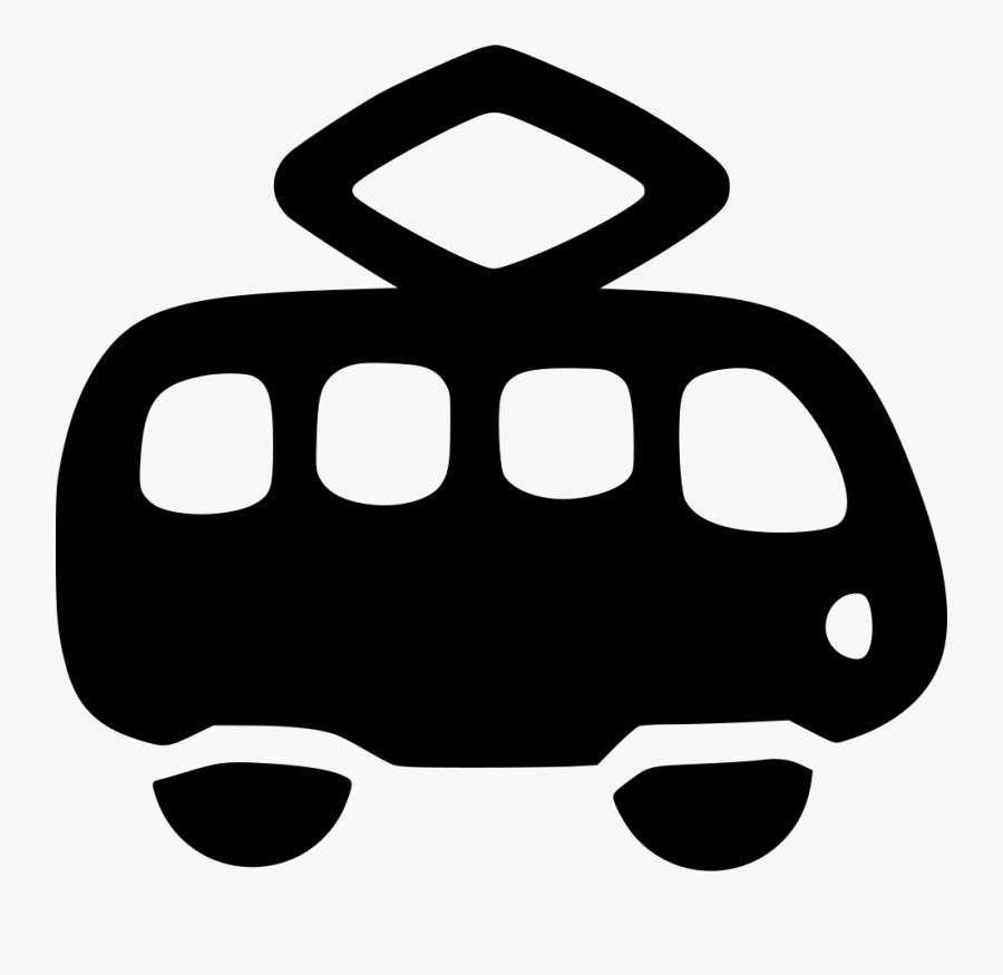 Car Tramway Public Vehicle Passenger, Transparent Clipart
