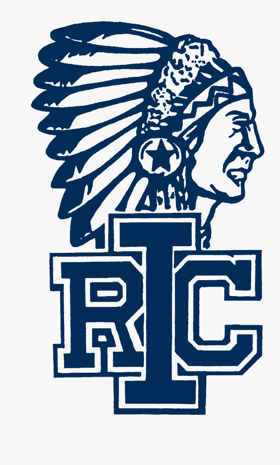 Indians Clipart Indian Creek - Indian River High School Mascot, Transparent Clipart