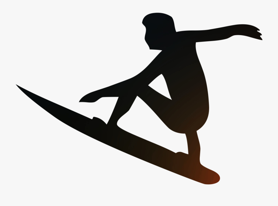 Surfing Scalable Vector Graphics Wind Wave Silhouette - Surfing People Png, Transparent Clipart