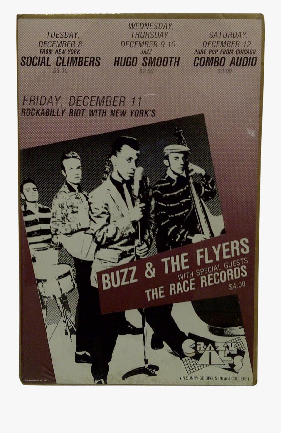 Clip Art Concert Flyers - Retro Style, Transparent Clipart