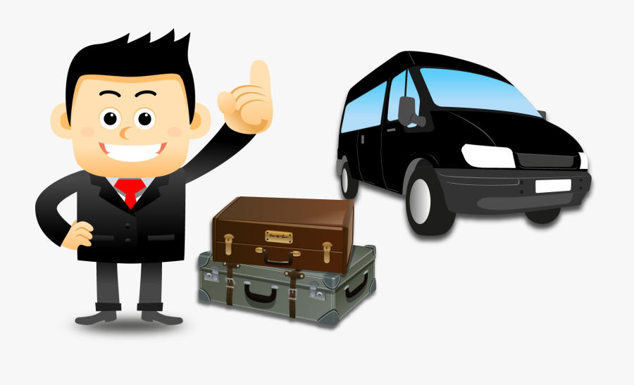 Tourist Clipart Service Vehicle - Thumbs Up Cartoon Png, Transparent Clipart