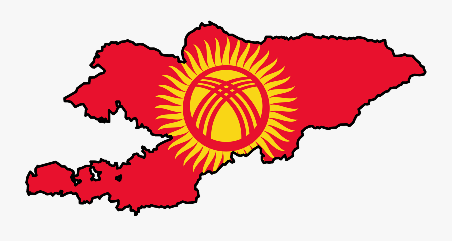 Transparent Battle Of Bunker Hill Clipart - Flag Of Kyrgyzstan, Transparent Clipart