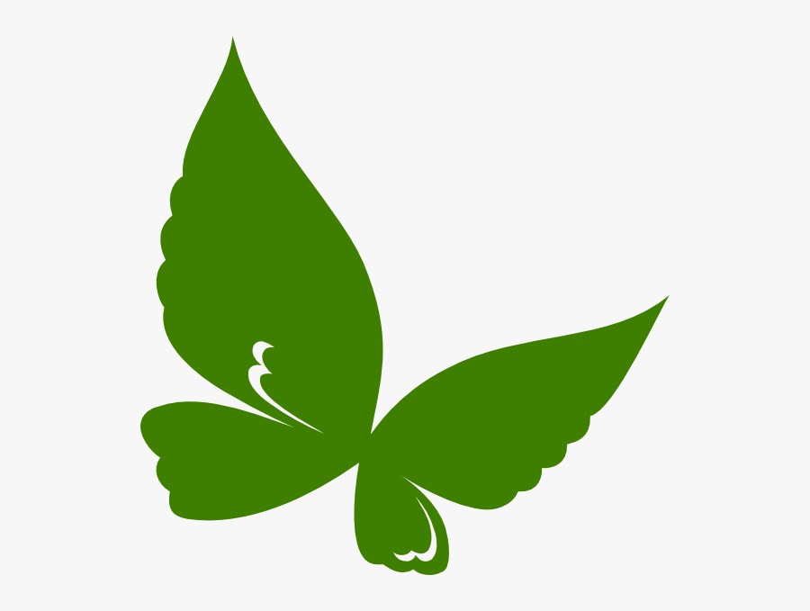 Edited Butterfly Svg Clip Arts - Clip Art Green Butterfly, Transparent Clipart