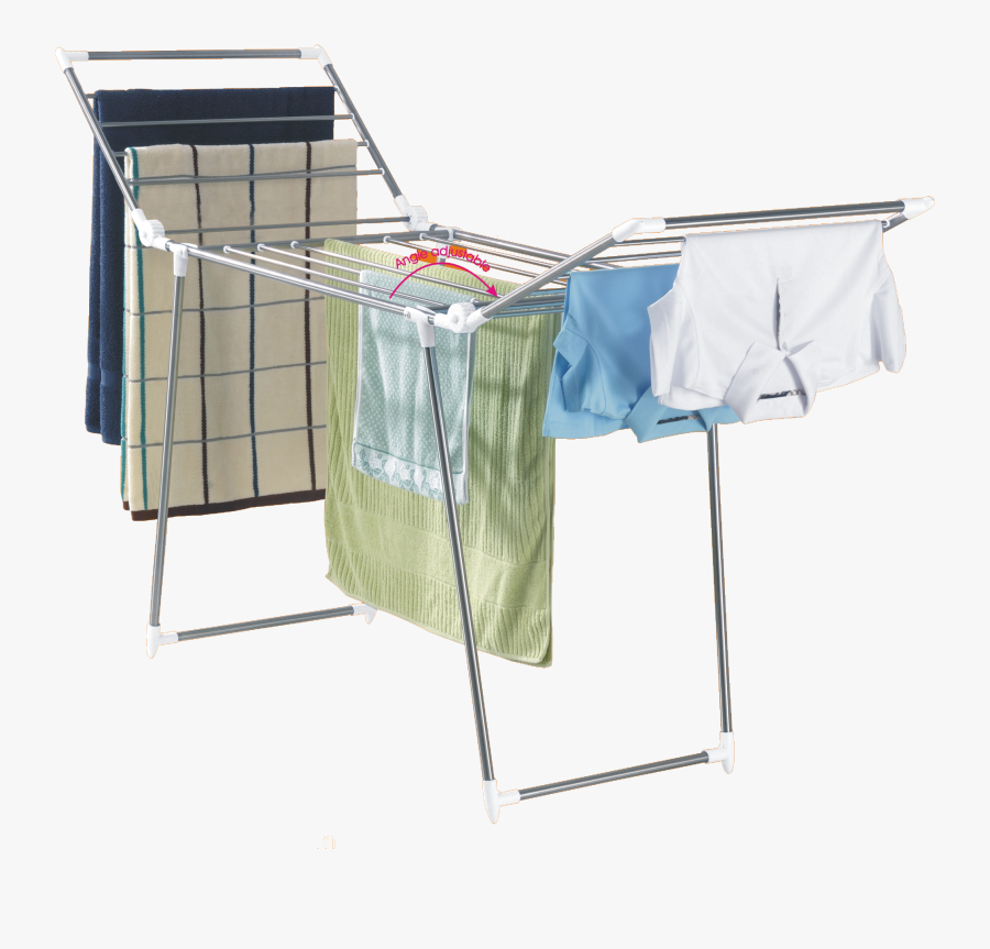 Clothes Rack Png - Clothes Drying Rack Png, Transparent Clipart