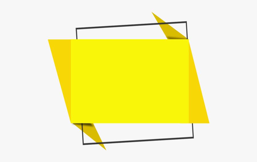 Clip Art Text Banner Color Modern - Text Box Shapes Png, Transparent Clipart