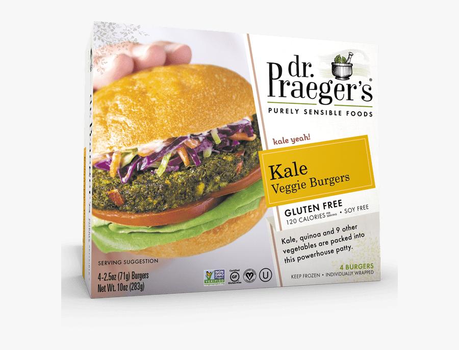 "Praeger""s Kale Veggie Burgers - Dr Praeger's Mushroom Risotto Burger, Transparent Clipart"