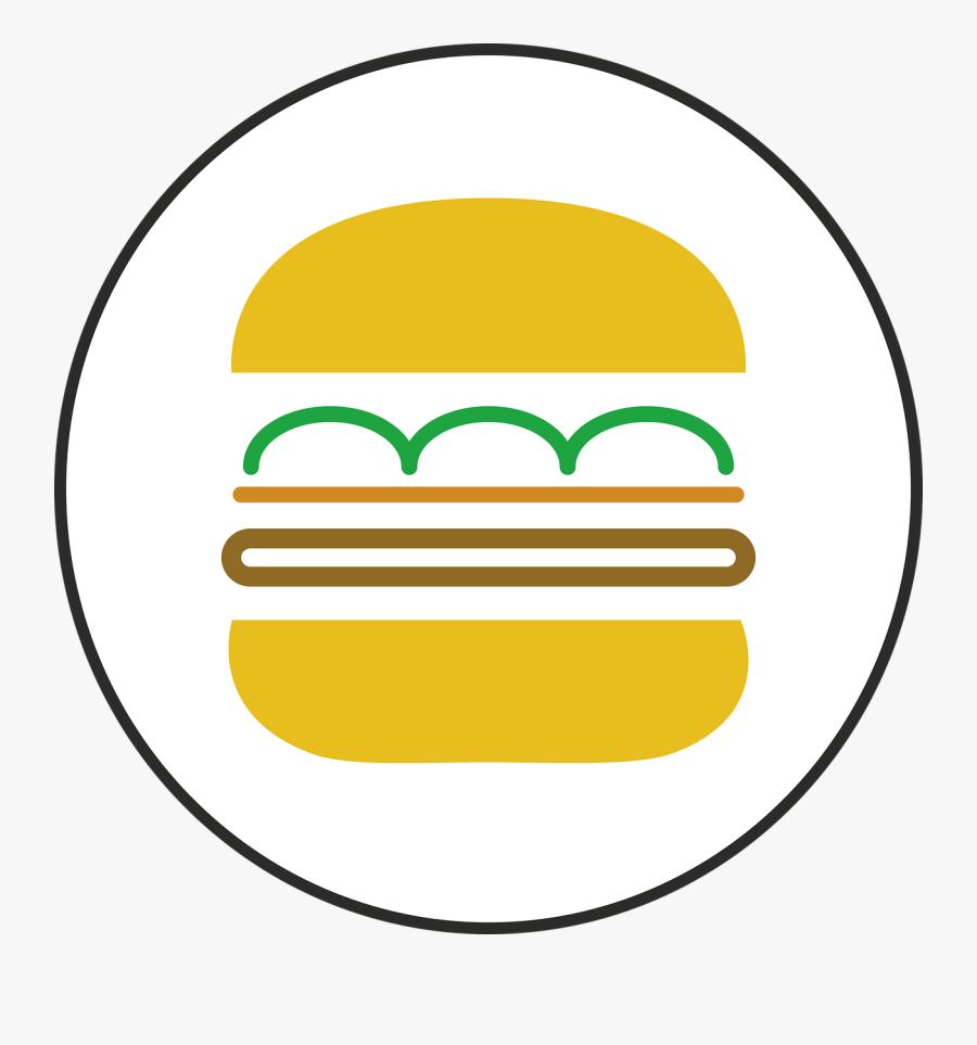かわいいハンバーガーのイラスト - Chicken Sandwich, Transparent Clipart