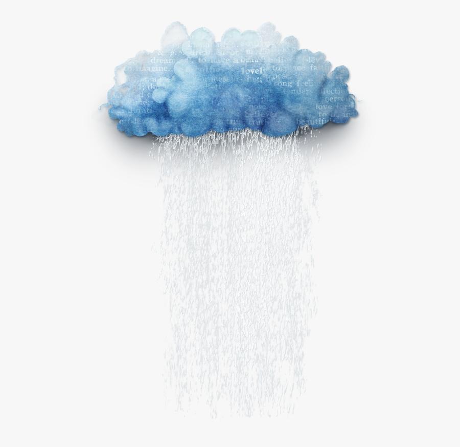 Cloud Is Raining Png, Transparent Png - Transparent Rain Clouds Png, Transparent Clipart