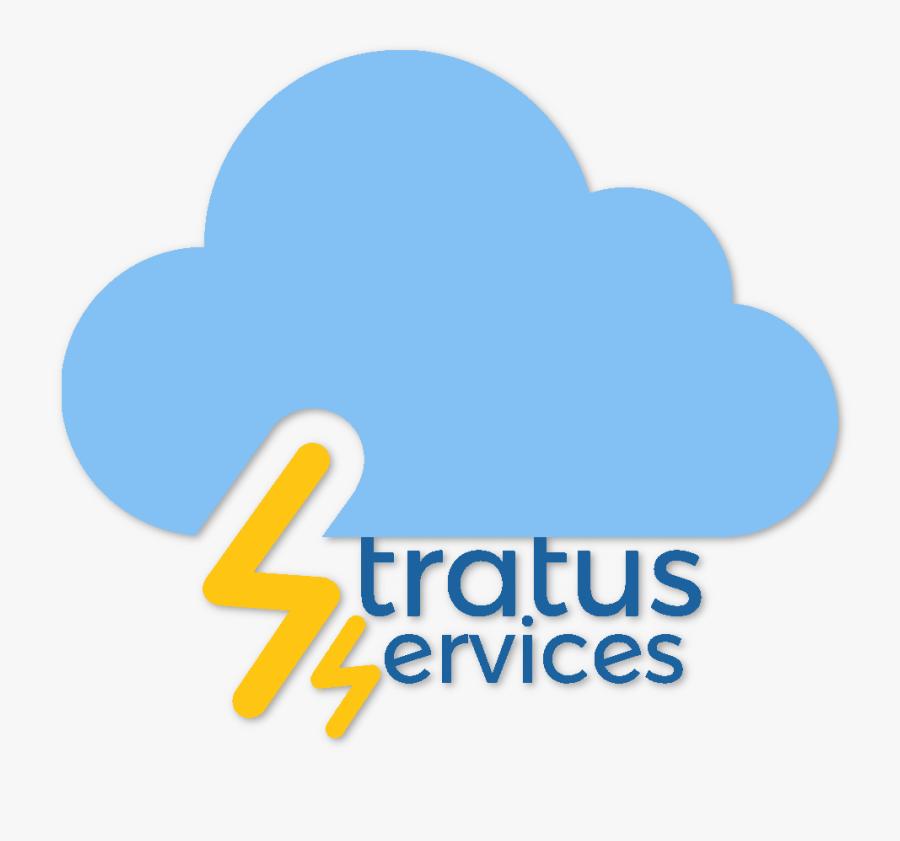 Stratus Services - Heart, Transparent Clipart