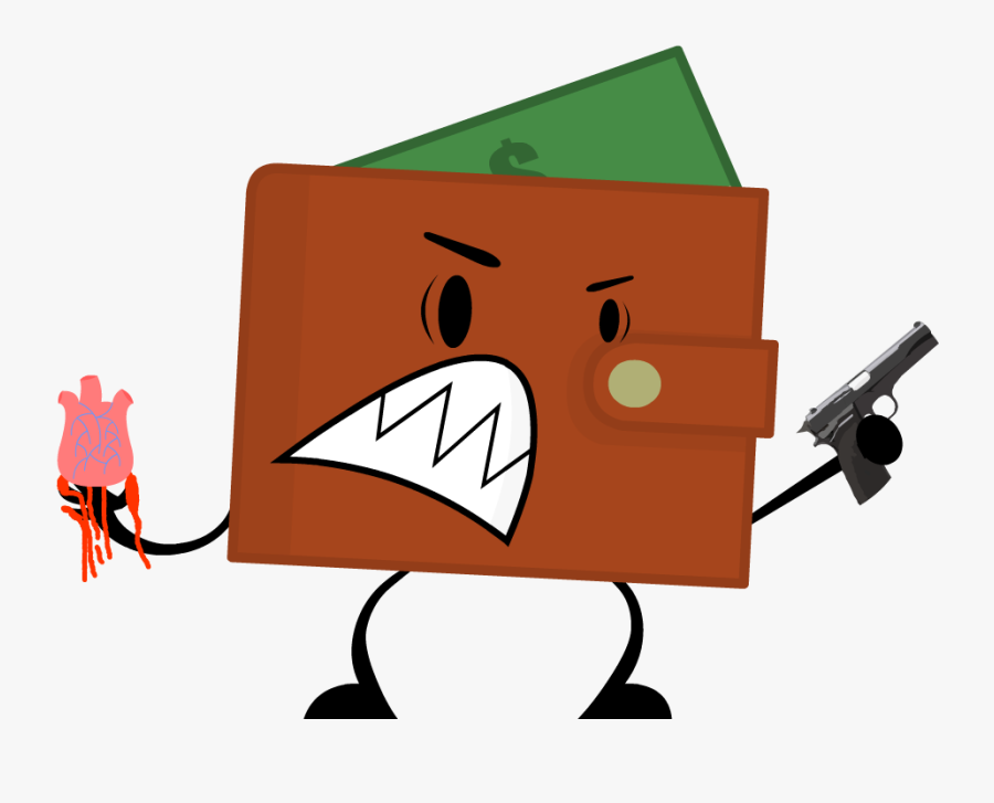 Image Object Terror Reboot - Wallet From Object Terror, Transparent Clipart