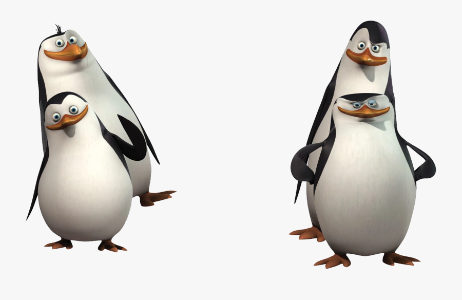 Madagascar Penguins Png Image - 4 Penguins From Madagascar, Transparent Clipart