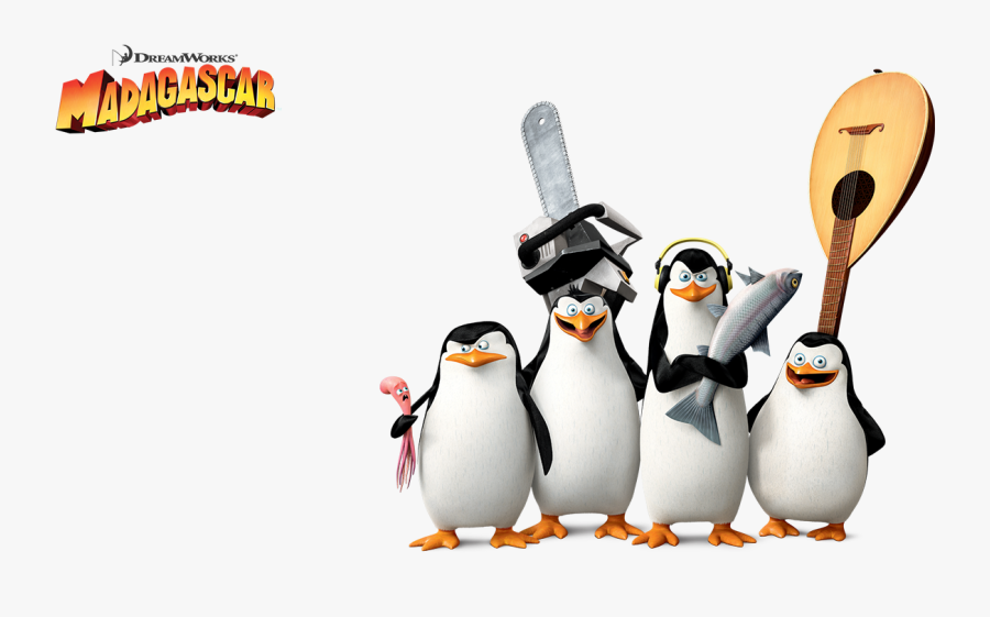 Madagascar Penguins Png Penguin, Transparent Clipart