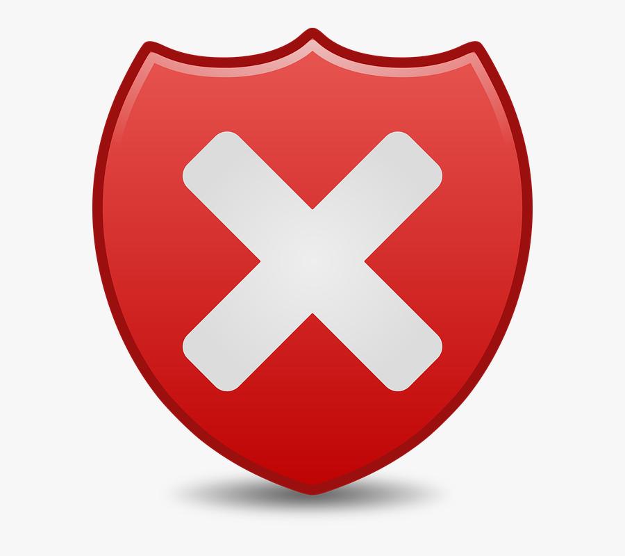 Icon, Icons, Low, Matt, Security, Symbol - Transparent Background X Button Icon, Transparent Clipart
