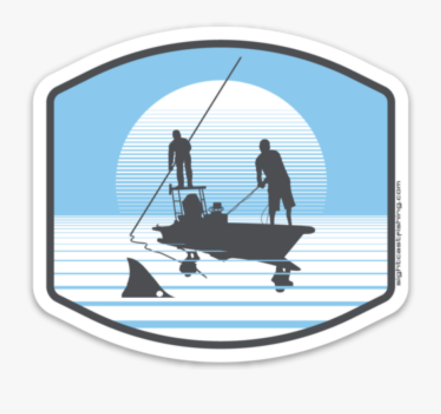 Kayak Fishing Stickers And Decals For Texas, Louisiana, - Fisherman, Transparent Clipart