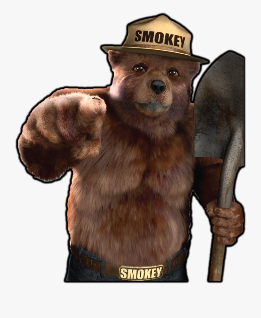 Smokey The Bear Png, Transparent Clipart