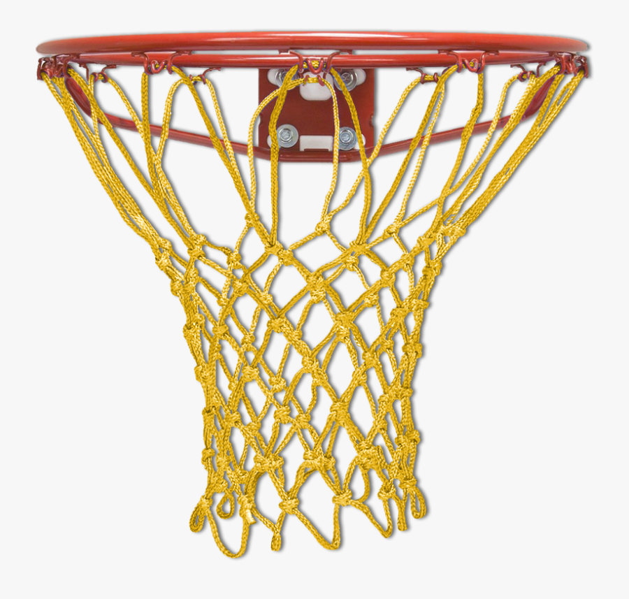 Transparent Basketball Hoop Clipart Black And White - Basketball Hoop Black Net, Transparent Clipart