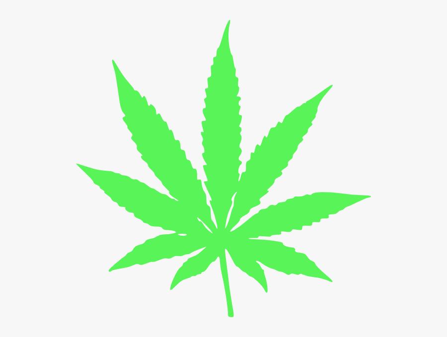 Transparent Background Weed Leaf Png, Transparent Clipart