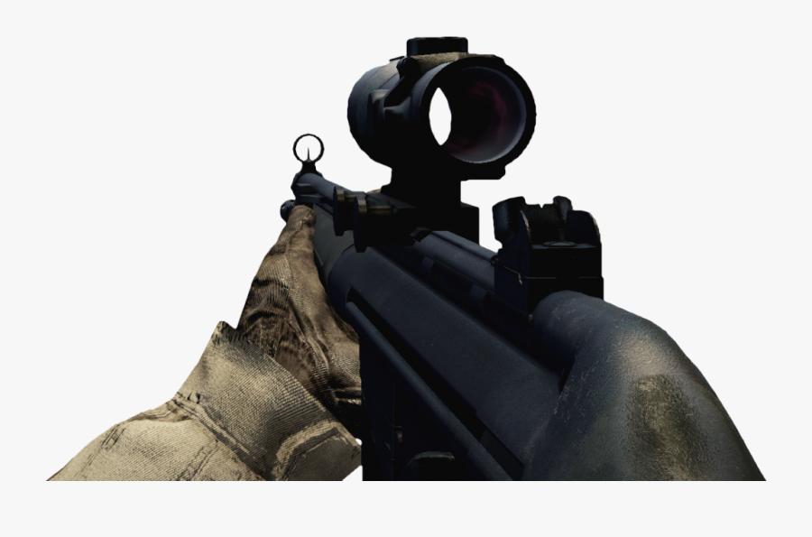 Transparent Rifle Scope Png - Sniper Rifle, Transparent Clipart
