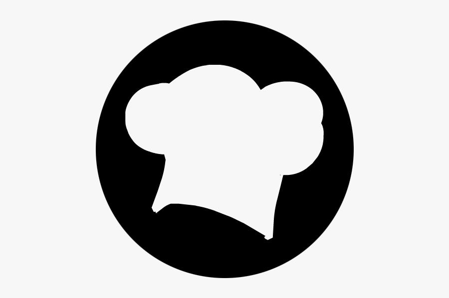 Chef Hat White Icon Svg, Transparent Clipart