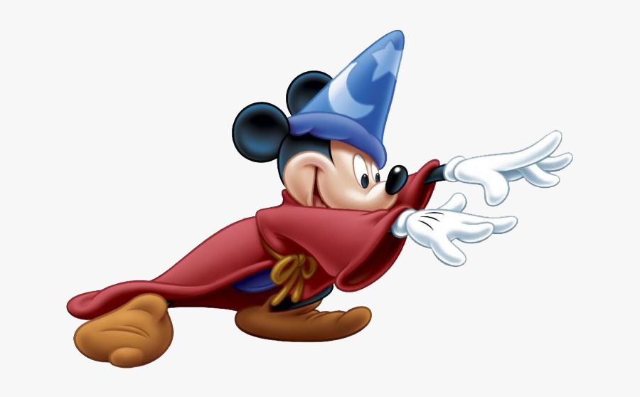 """Mickey Mouse Minnie Mouse Sorcerer""""s Hat The Walt Disney - Mickey Mouse Sorcerer Png, Transparent Clipart"""