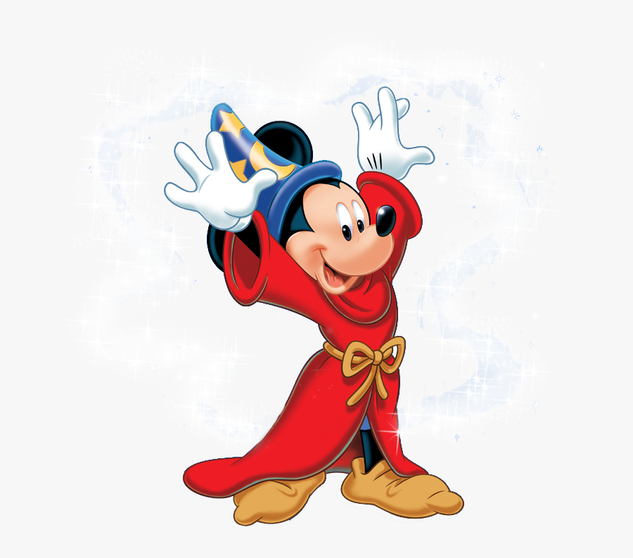 """Disney""""s Magical Mirror Starring Mickey Mouse Minnie - Mickey Mouse The Sorcerer's Apprentice Clipart, Transparent Clipart"""