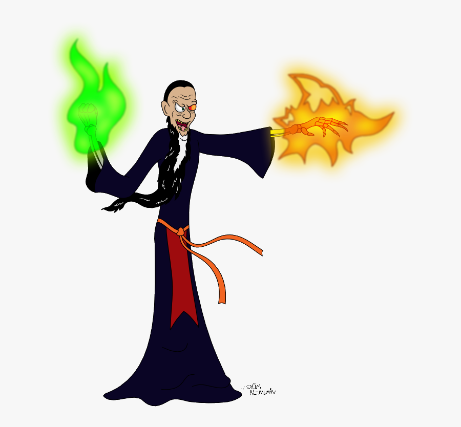 Sorcerer , Png Download - Evil Sorcerer Clipart, Transparent Clipart