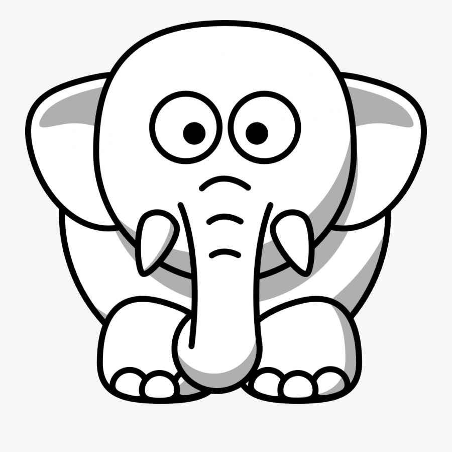 How To Make An Elephant Baby Mobile A Out Of Washcloth - Black And White Animal Clipart Zebra, Transparent Clipart