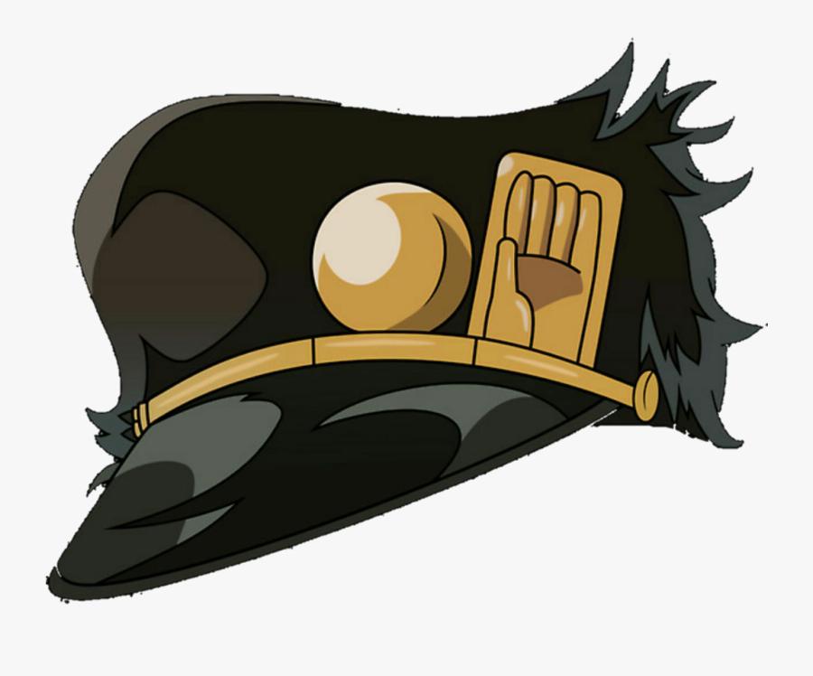 "#jojo #jojo""s #jojosbizarreadventure #avdol #anime - Jojo Jotaro Hat Png, Transparent Clipart"