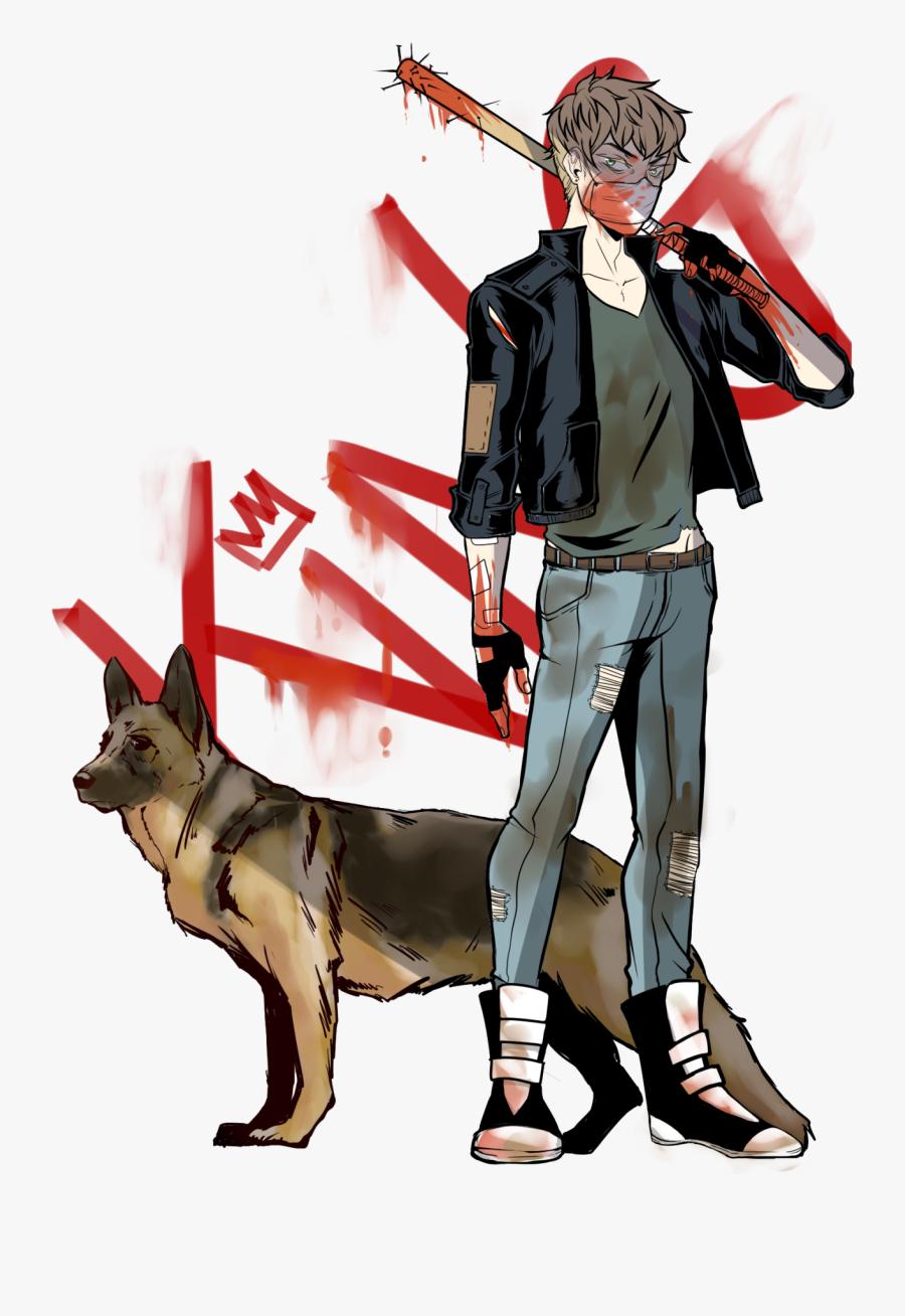 Transparent Zombie Dog Png, Transparent Clipart