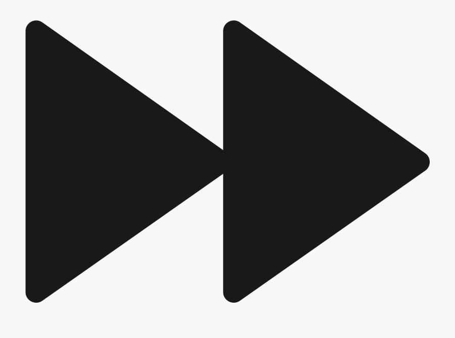 Fast Forward Button Png , Transparent Cartoons - Transparent Fast Forward Symbol, Transparent Clipart