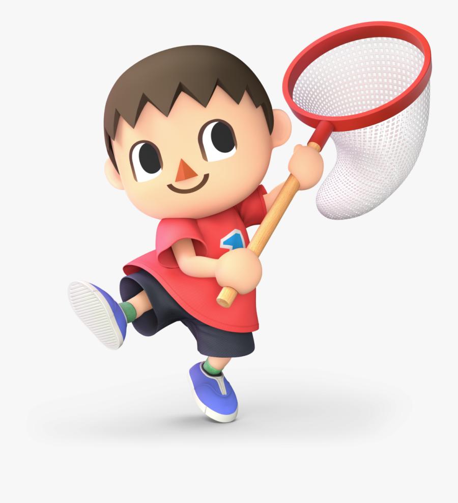 Smashwiki Β - Animal Crossing Villager Png, Transparent Clipart
