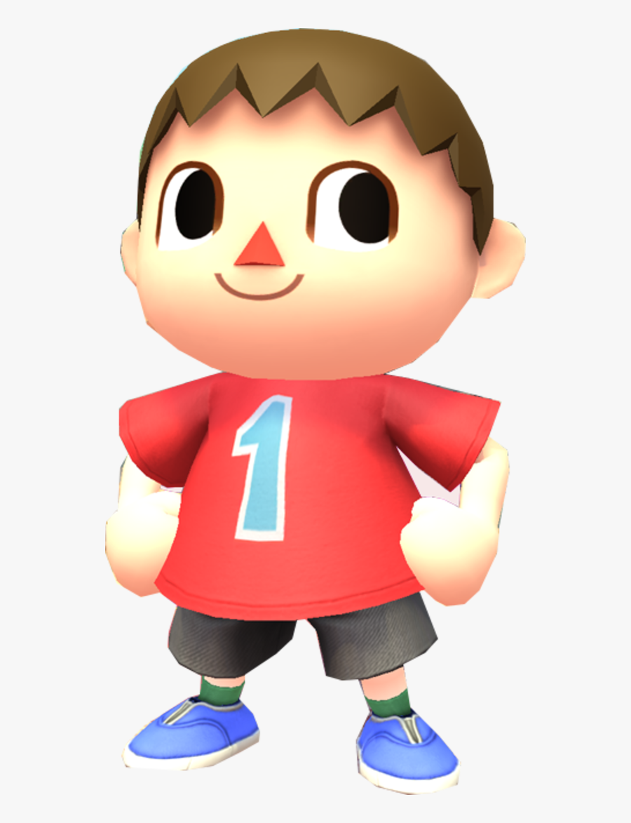Cartoon Clip Character Villager Animal Crossing Png Free