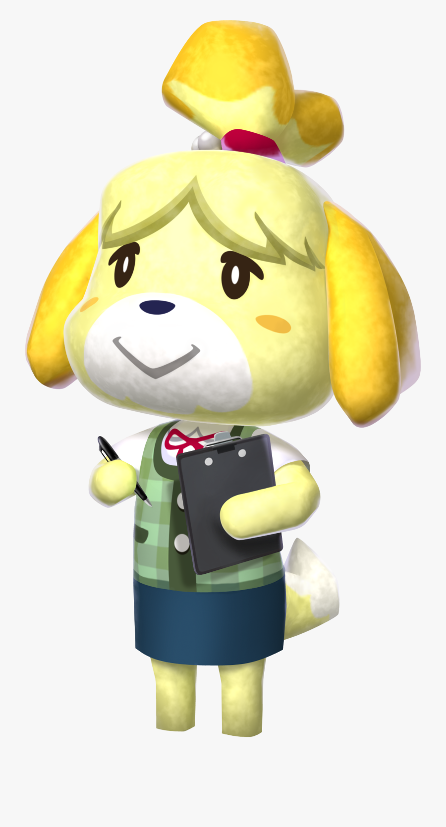 Clip Art Animal Crossing Png - Isabelle Animal Crossing, Transparent Clipart