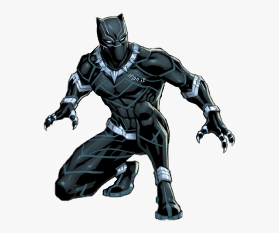 Transparent Marvel Black Panther Png - Black Panther Cartoon Characters, Transparent Clipart