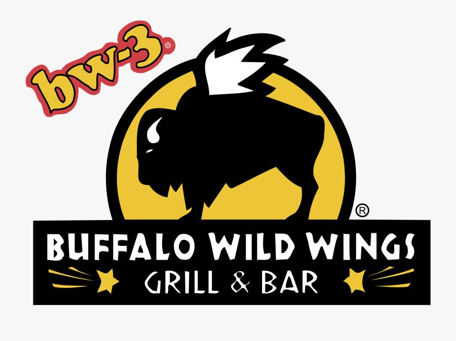 Transparent Buffalo Png - Buffalo Wild Wings Restaurant Logo, Transparent Clipart