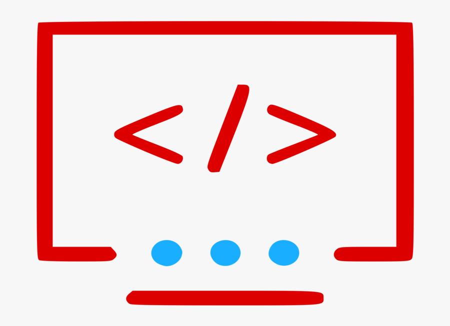 Angle,area,text - Software Developer Software Development Icon, Transparent Clipart